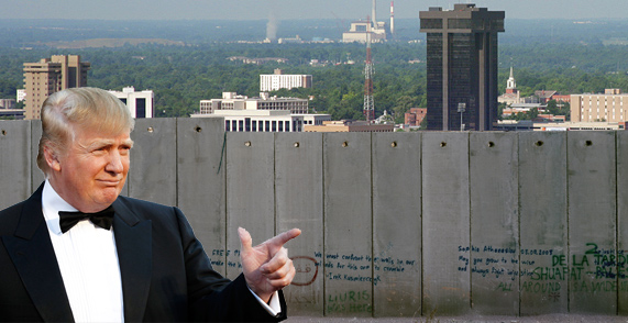 Image result for border wall construction mexico